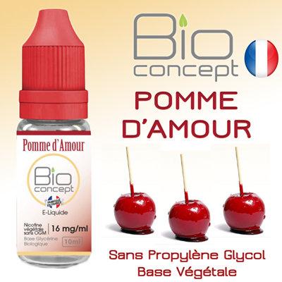 Eliquide BIO CONCEPT POMME D'AMOUR 10ml