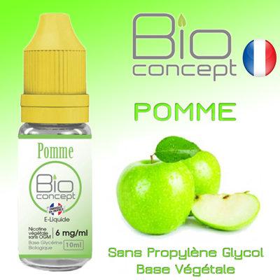Eliquide BIO CONCEPT POMME 10ml
