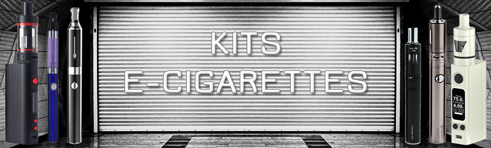 Kits E-cigarettes : Packs débutants ou confirmés