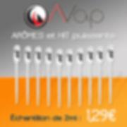 ÉCHANTILLONS E-LIQUIDES 2ml AVAP à 1,29€