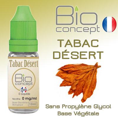 Eliquide BIO CONCEPT TABAC DESERT 10ml