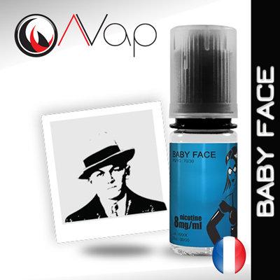 AVAP BABY FACE - E-liquide Tabac brun 10ml
