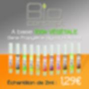 ÉCHANTILLONS E-LIQUIDES 2ml BIO CONCEPT à 1,29€