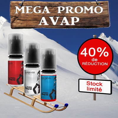 Test e-liquide tabac AVAP AMERICAN RED : Un tabac blond délicatement sucré. Note 8/10