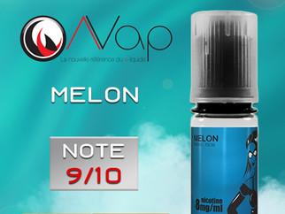Test e-liquide AVAP MELON : Un goût naturel et parfaitement sucré. Note 9/10