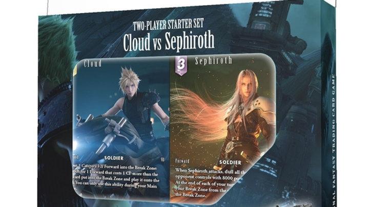 Final Fantasy TCG Cloud Vs Sephiroth