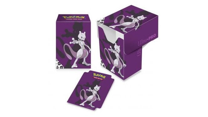 Pokemon Mewtwo Full View Deck Box