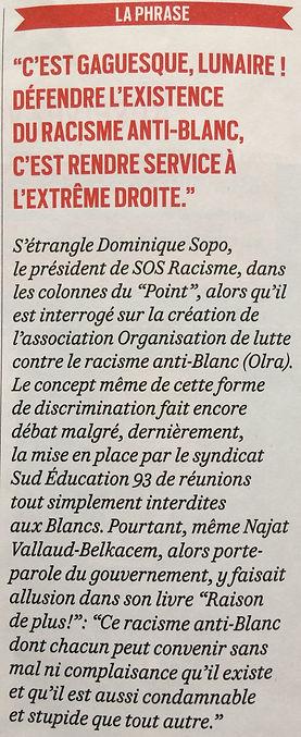 OLRA - Racisme anti-Blancs Racisme antiBlanc antiBlancs