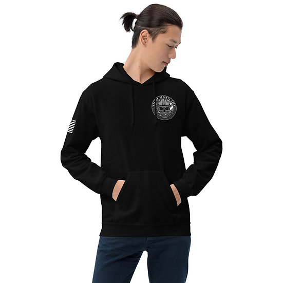 Work Hard Stay Humble with logo Unisex Hoodie