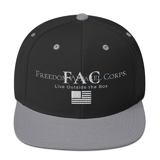 Live Outside the Box, Freedom Snap Back Hat