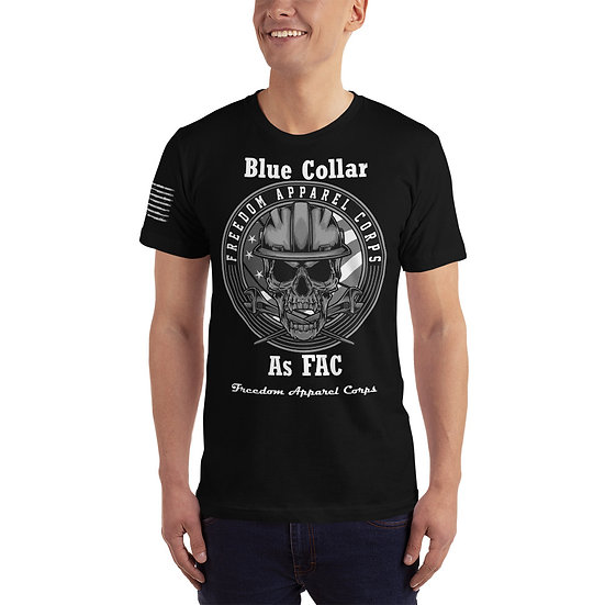 Blue Collar As FAC, T-Shirt