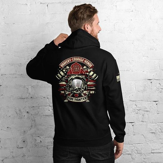 Fire Fighter Unisex Hoodie