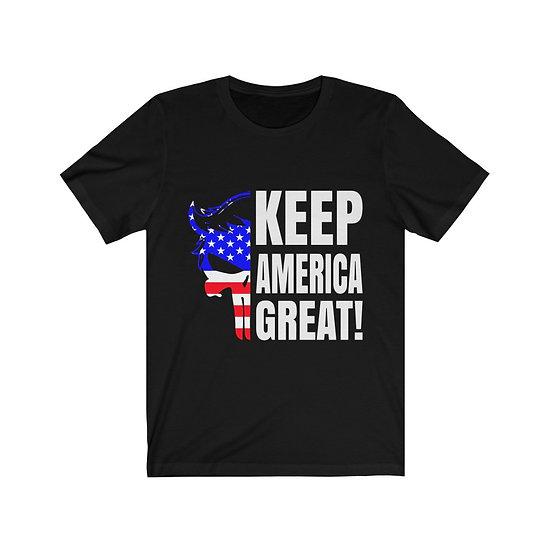 Keep US great Unisex Jersey Short Sleeve Tee