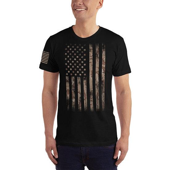 Desert Camo Flag , T-Shirt