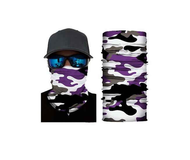 Purple Blizzard Camo Freedom Shield