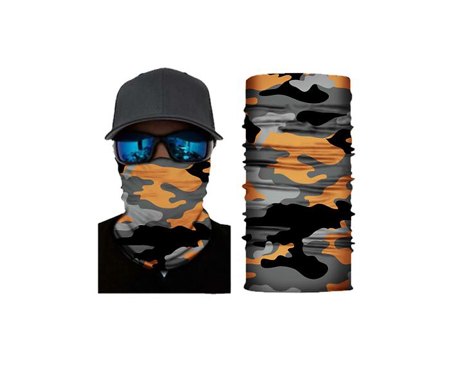 Orange Camo Freedom Shield