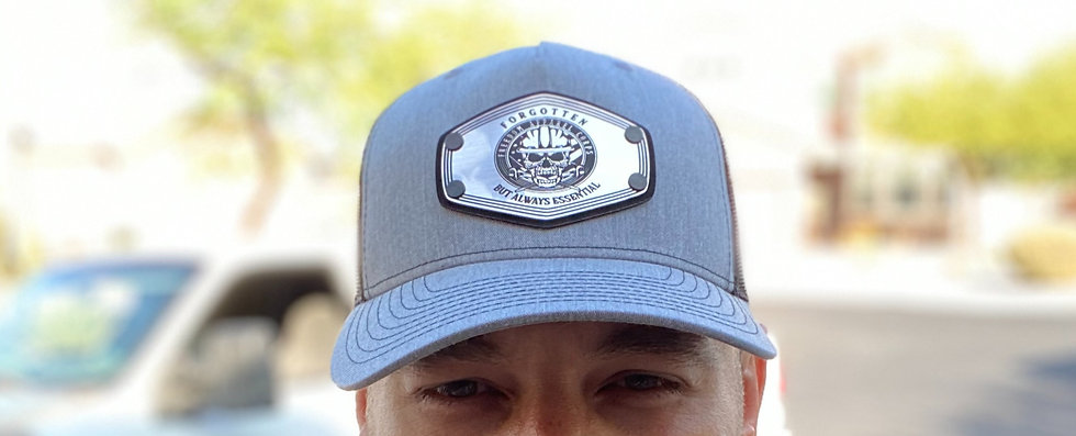 Forgotten but Always Essential , Snap back W/ brushed finish