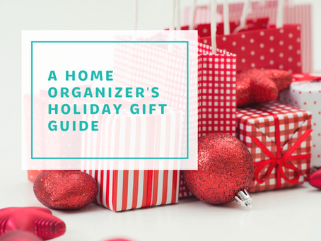 an organizers holiday gift guide - top 10