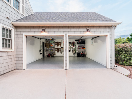 our garage makeover