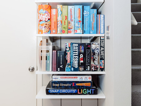 organizing games | 3 different ways