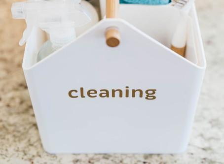 spring cleaning + the coronavirus