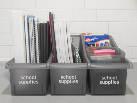 5 organizational strategies for a smooth back-to-school transition