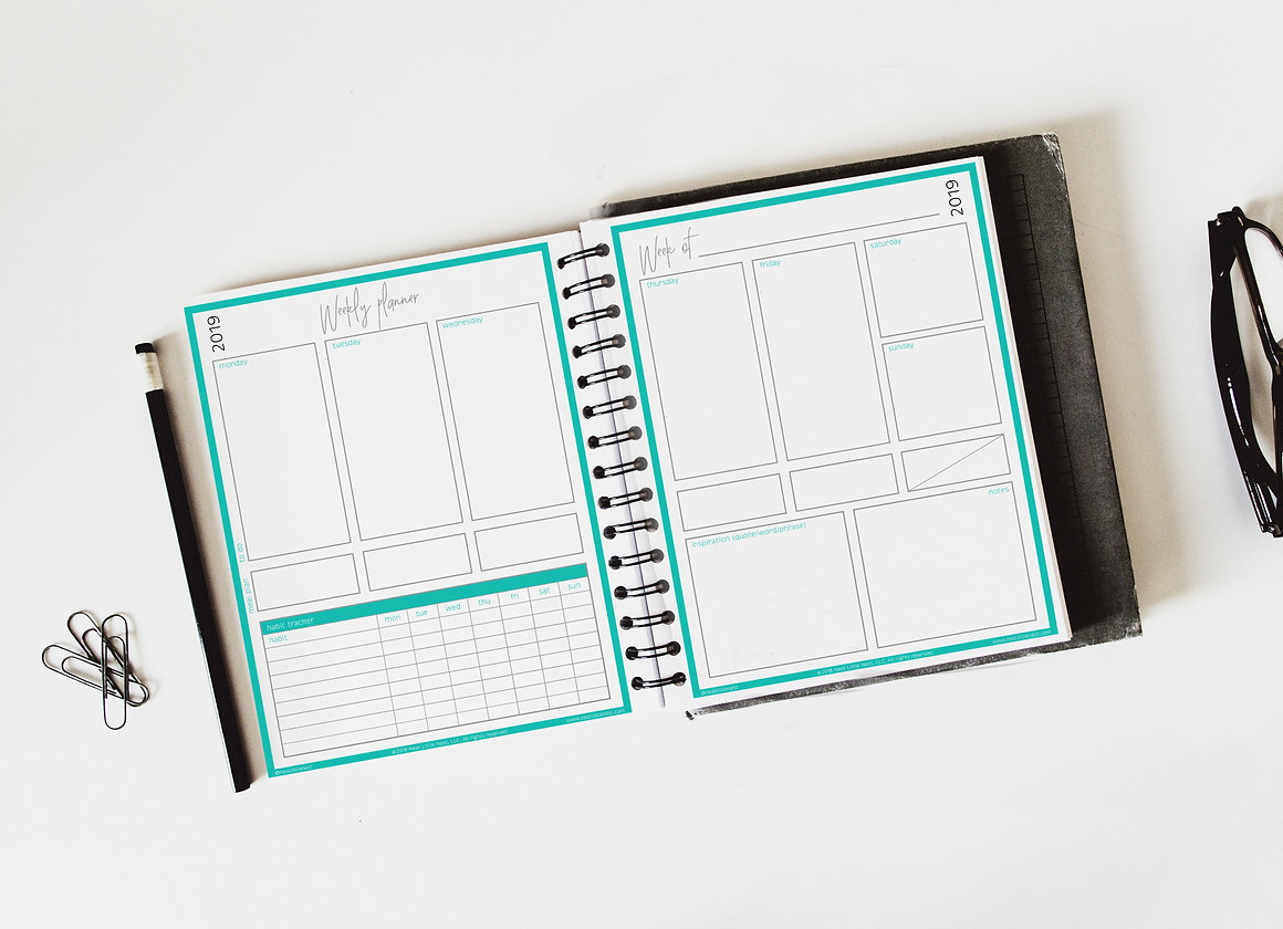 photograph relating to Weekly Planner Printable known as Weekly Results Planner (printable quick obtain)