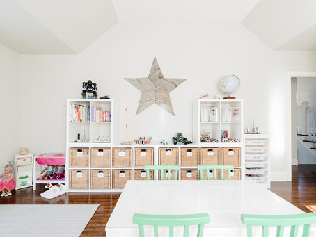 decluttering with kids | toy's edition