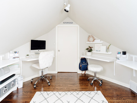 home office inspiration: a cloffice