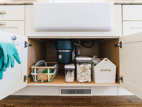 five bite-size organizing projects you can finish in a weekend