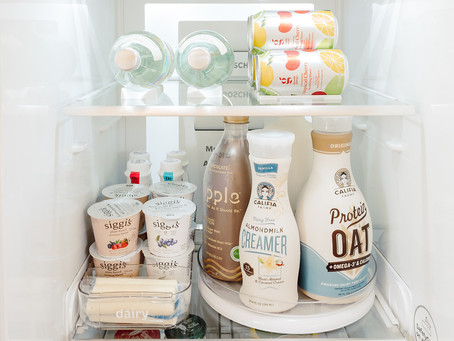 the fridge - how to organize it, how often and 5 things you could throw out today