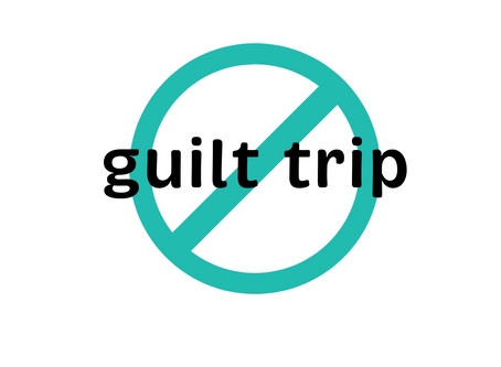 mindful holiday giving - leave the guilt trip at home