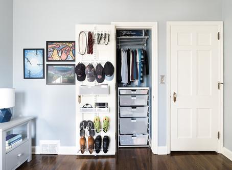 closet organization | kid's edition