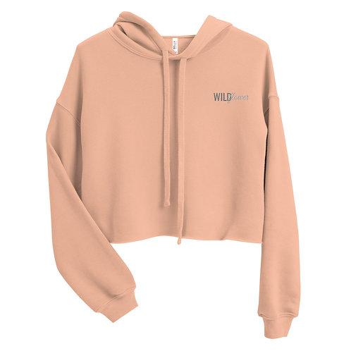 core crop hoodie