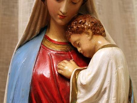 Avec Marie, mère de miséricorde