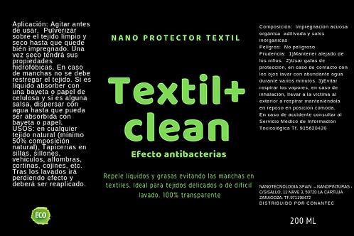 Repelente de manchas textil