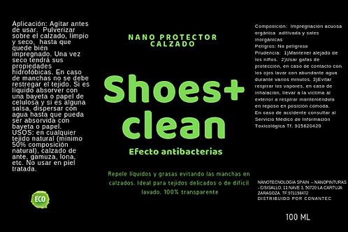 Repelente de manchas calzado