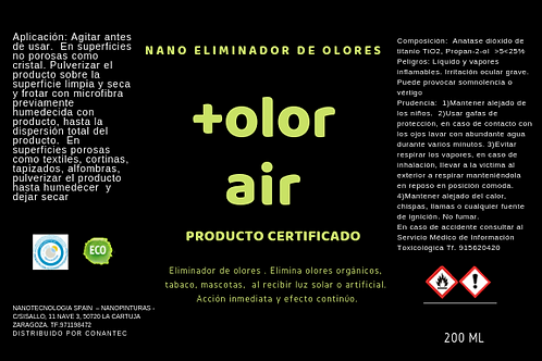 +Olor air nano recubrimiento fotocatalítico