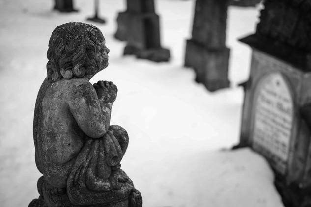 Hřbitov, Horní Blatná