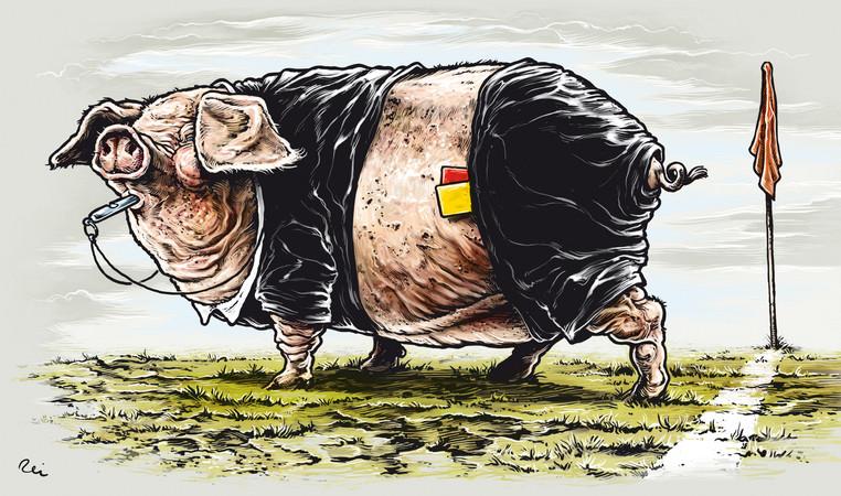 Černá svině