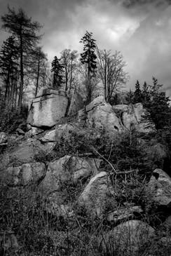 Vlčí hřbet, Krušné hory