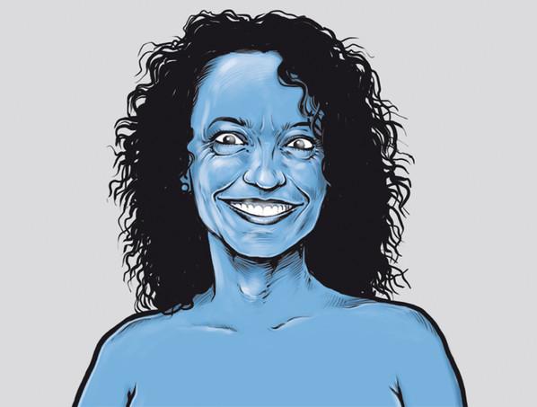 Lucie, modré upije