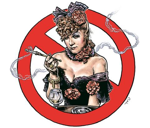 Adina kouří
