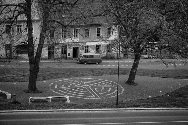 Náměstí Chartreského labyrintu, Jáchymov