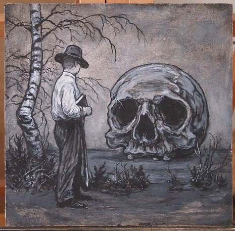 Deml - Když už prišel k Ruce a dával se k Podmočidlům, potkala ho Smrt.