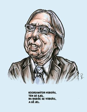Národní protidrogový koordinátor Vobořil
