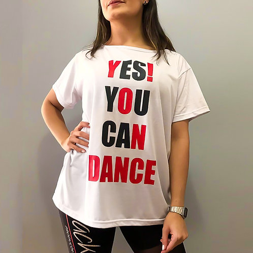Camiseta Yes You Can Dance Infantil