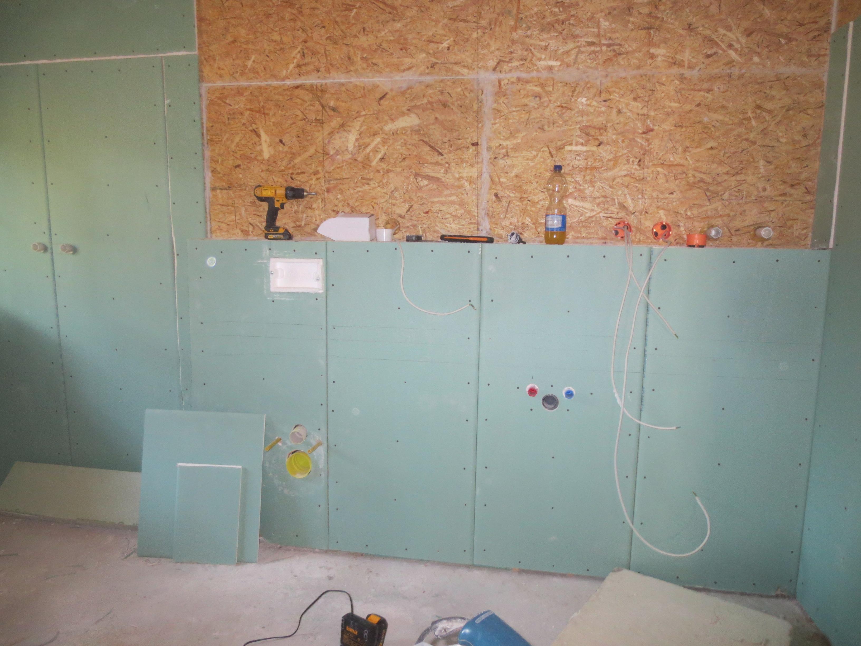 Bad (während Bau) | home