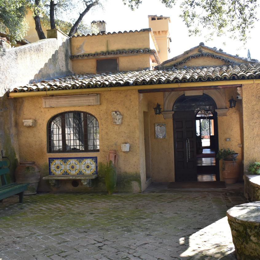 הכניסה הראשית