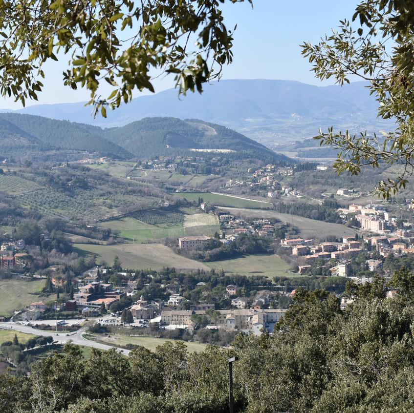 הנוף על ספולטו